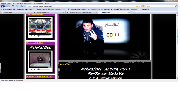 New Pag Web OffiCieL FroM AchRafBeL