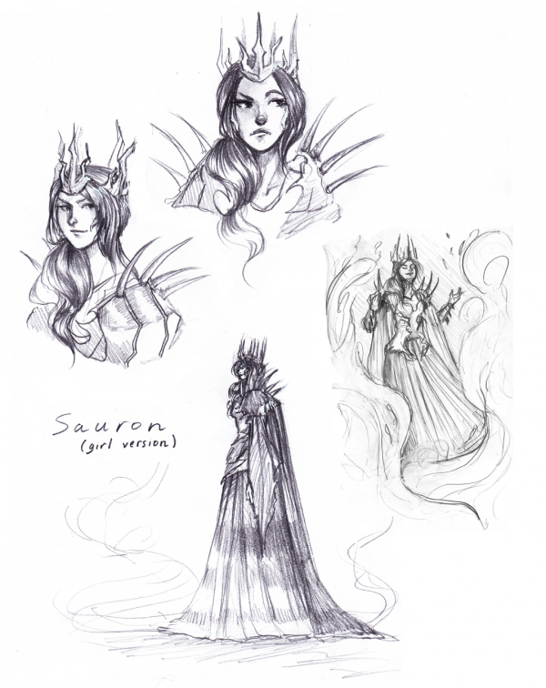 Lady Sauron.