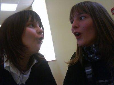Charlotte et moi :)