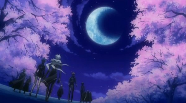 .: Première nuit : Sous un croissant de lune :.
