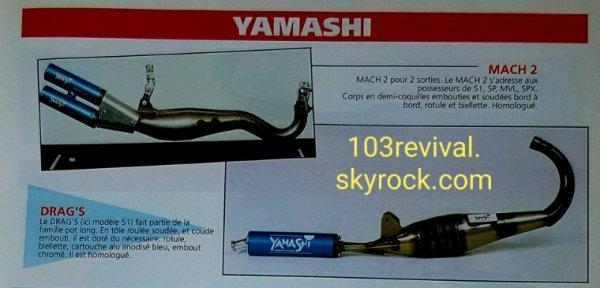 Pot YAMASHI DRAG'S 103 SP/MVL