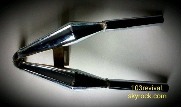 Pot CALABRIA Chrome 103 Peugeot