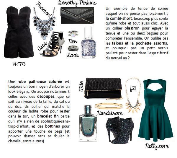 Idées de tenues pour le nouvel an