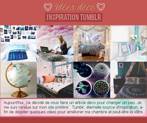 Idées déco - Inspiration Tumblr