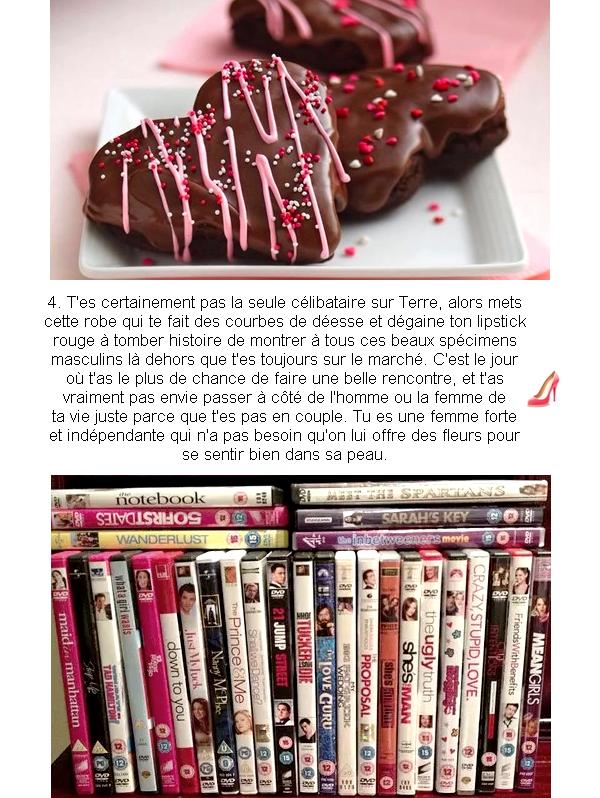 Le guide de la St-Valentin partie 2 : Célibataire