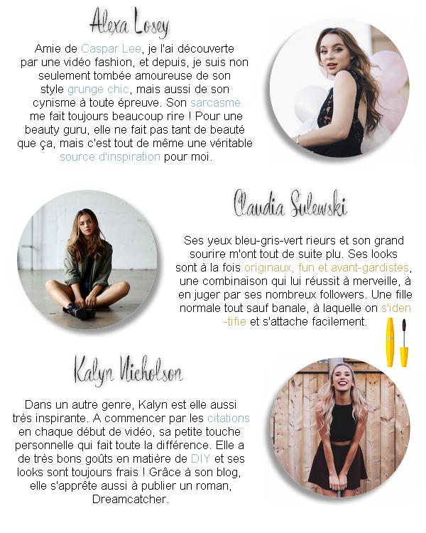 Top 10 youtubeuses américaines Mode, beauté, DIY & Lifestyle