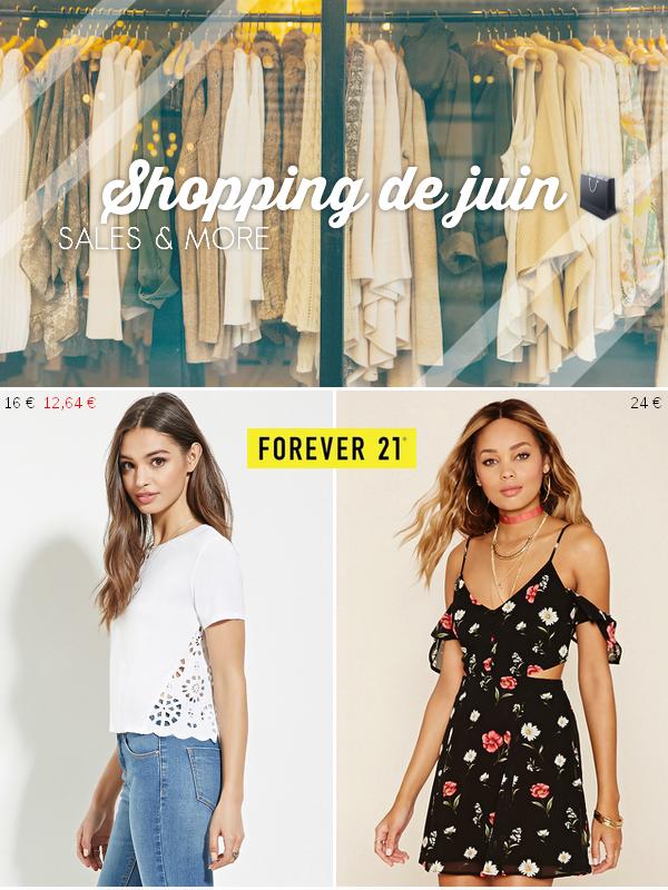 Shopping du mois