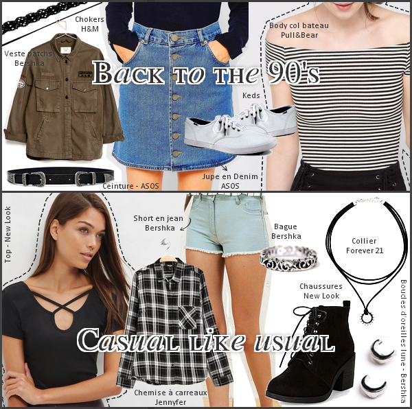 Back to school : Outfits ideas