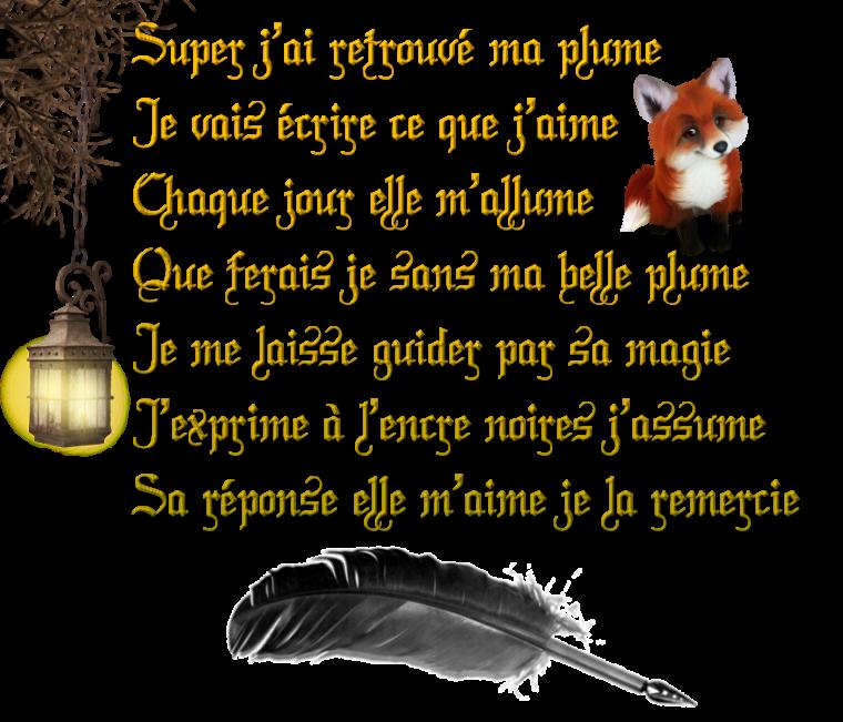 ☂ Ma plume ☂