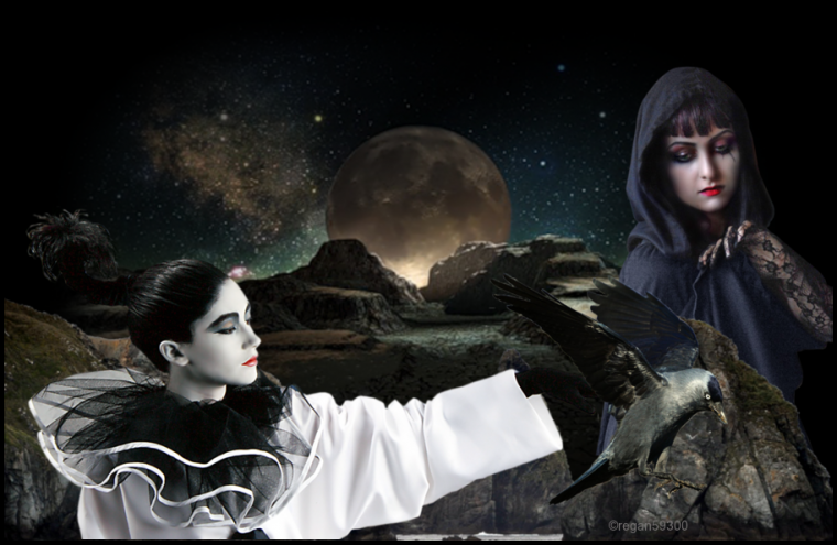 ☩༺༻ Pleine Lune ༺༻☩
