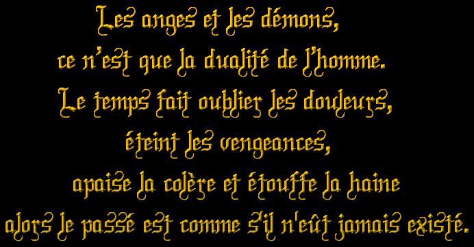༺༻Les anges et les démons  ༺༻