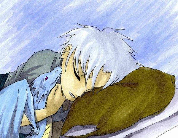 toshiro qui dort