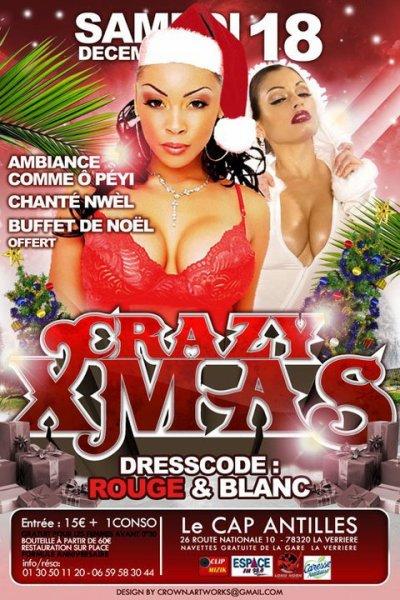 samedi 18 décembre 10 >> ★ CRAZY X'MAS PARTY ★ CHANTE NOEL + ASSIETTE DE NOEL OFFERTE