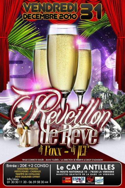 Vendredi  31décembre 10 >> ✭✭✭✭ REVEILLON DE REVE ✭✭✭✭