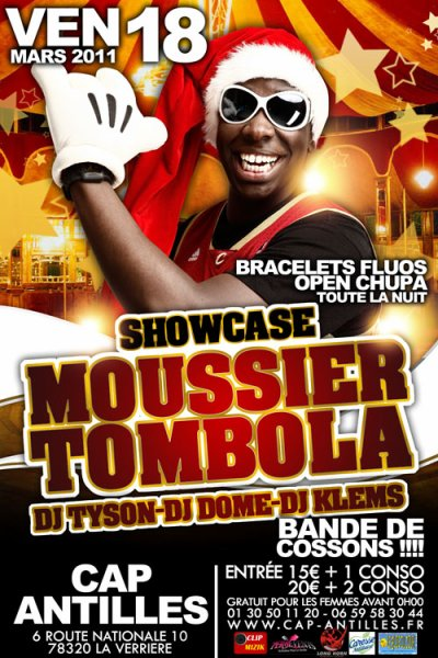 ★  L'EVENEMENT DU CAP ANTILLES ::: MOUSSIER TOMBOLA EN SHOWWW CASE EXCLUSIVITEEEEE  ★