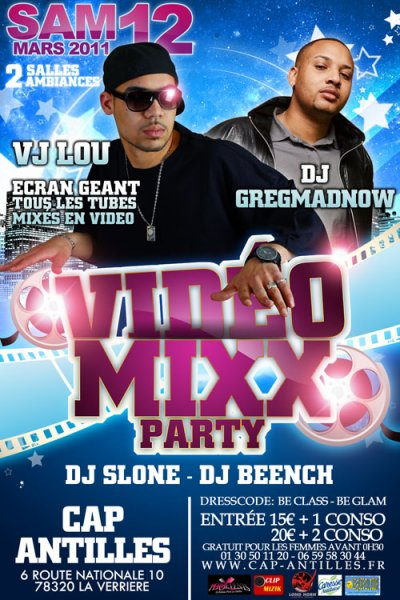 ★★ VIDEO MIX PARTY ★★ Avec Vj LOU (Vj n°1 de france) & Dj GREGMADNOW