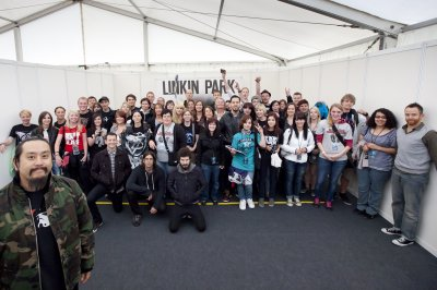 LINKIN PARK , LE 25 JUIN 2011 @ MUNICH , ALLEMAGNE + MEET&GREET