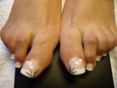 Renforement des ongles des pieds rench blanche 2 d co 2 strass diamant blog de x ongles - Coupe des ongles de pieds ...