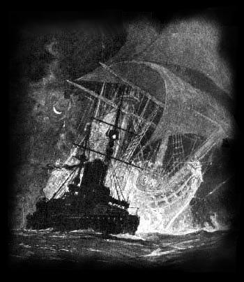 ~ Le vaisseau fantôme de la baie des Chaleurs...