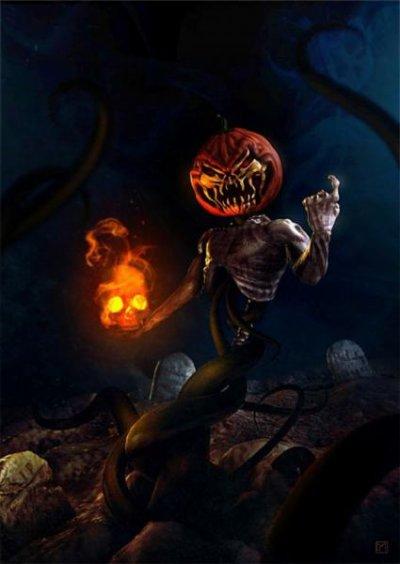 ~Spéciale Halloween : La légende de Jack O'Lantern...