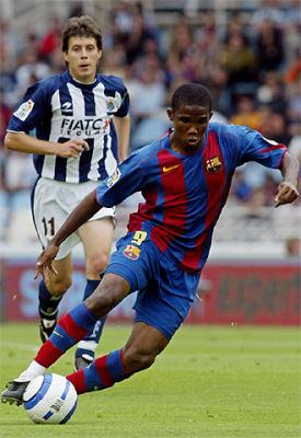 Nom Samuel Eto O Pays Cameroun Age 25 Ans