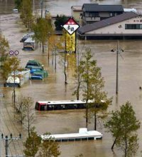 Les catastrophes naturelles au Japon