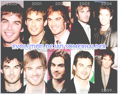 __Rubrique__ : Evolution _____________ Evolution de Ian Somerhalder _____________._________  Article quatre