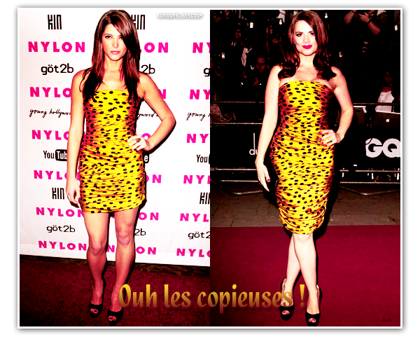 __Rubrique__ : Les copieuses ! ____________ Ashley Greene & Hayley Atwell __________________  Article neuf
