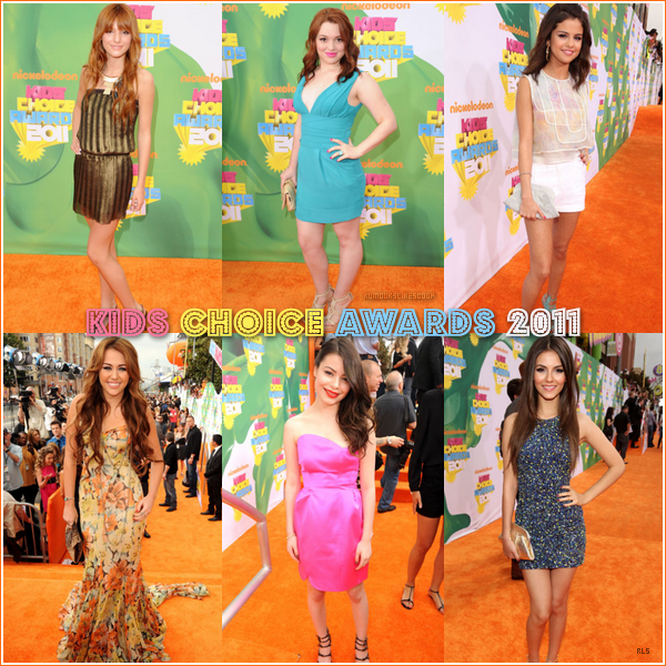 __Rubrique__ : Apparences  _______________ Kids Choice Awards 2011 ( 1 ) ___________________  Article onze