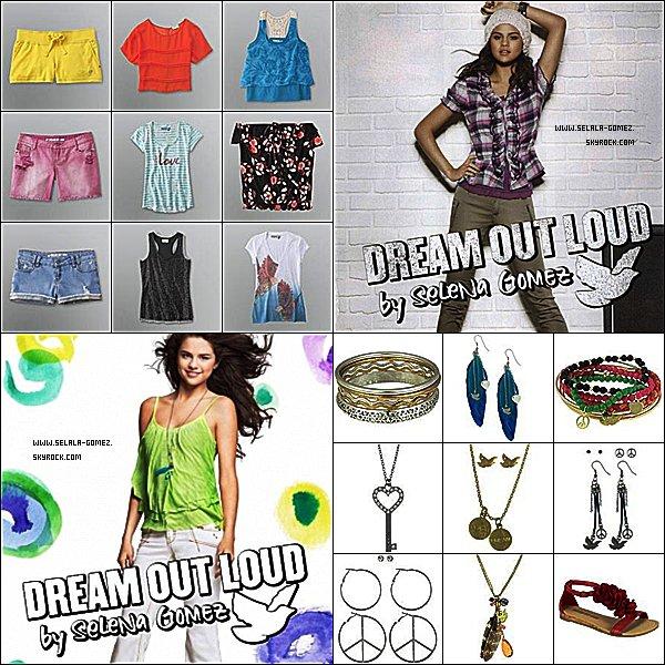 """. Zoom sur :  La ligne de vêtements créer par Selly """" dream out loud """" ! N'hésite pas à donner ton avis ! Mon avis : C'est jolie et simple, ça convient bien aux enfants. Gros coups de coeur pour les bijoux à plume !  ."""