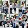 . 03/07/12 :  Selena sortant d'un starbucks à L.A ! Look : Ses bottes sont un gros flop. Mais son Louis Vuitton est sublime ! Tu en penses quoi ? :)  .