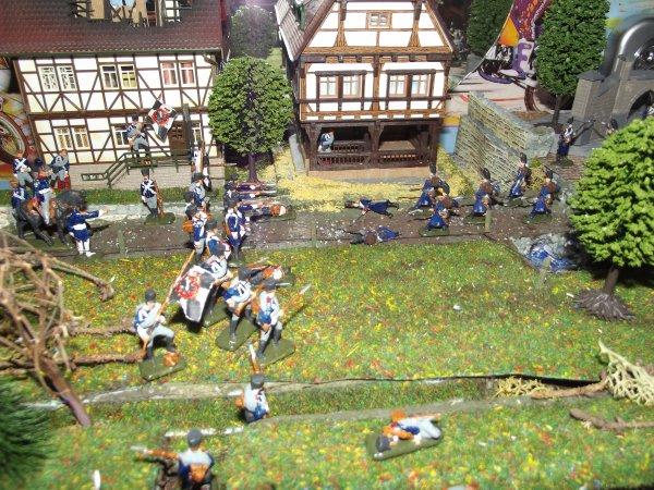 Diorama de La bataille de Leipzig (16-19 octobre 1813)
