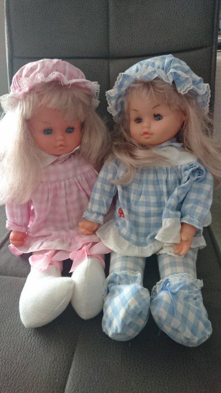 Les jumelles chifonnette