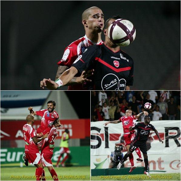 ■  Ajaccio - Valenciennes : » Photos