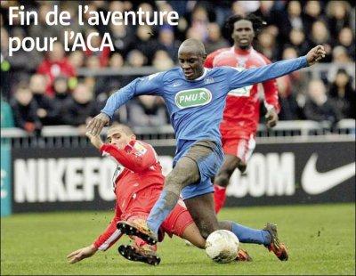 ■ [CDF - 16ème de finale] Bourg Peronnas - Ajaccio : »  La feuille de match