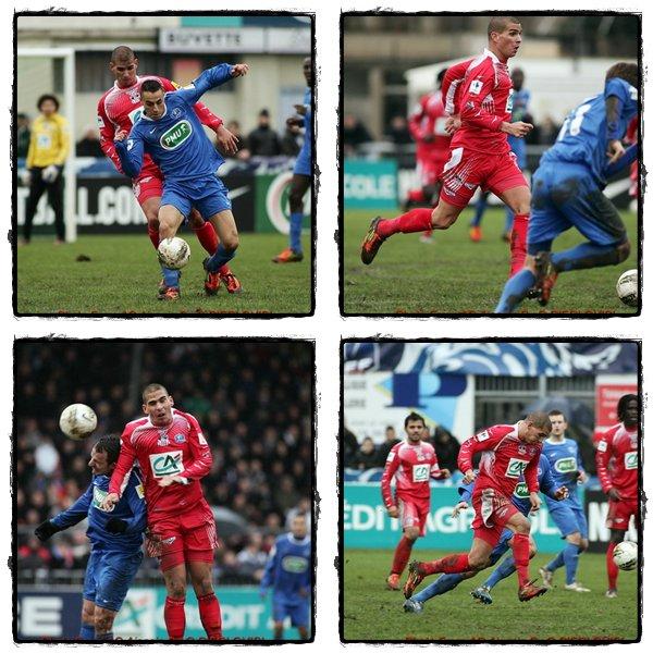 ■ [CDF - 16ème de finale] Bourg Peronnas - Ajaccio : »  Photos