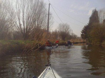 Cette année, en complément du bateau, j'ai décidé de me mettre au kayak...