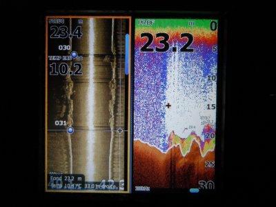 Lowrance HDS 5 : quelques captures d'écrans