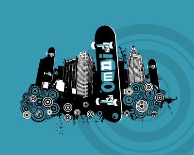 c la folie le skateboard....ptai