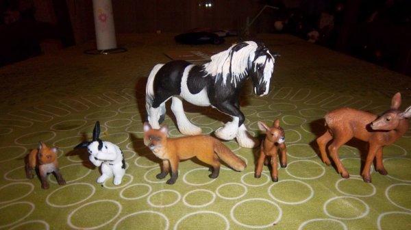 achat animaux pour maquette