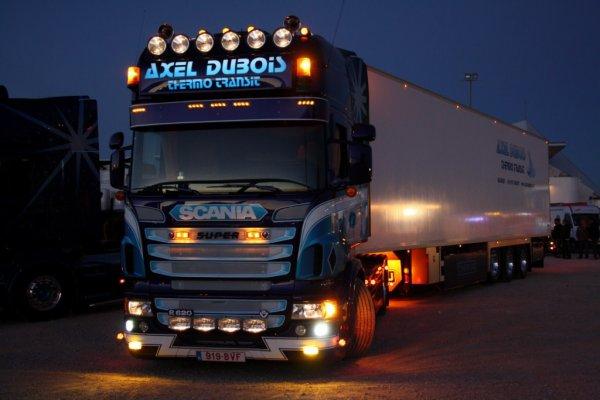 Scania V8 - R620