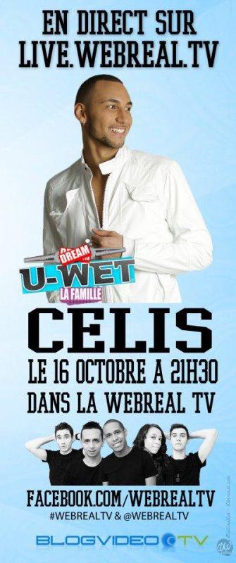 CELIS CE DIMANCHE 16 OCT A 21H30 DANS LA WEBREALTV