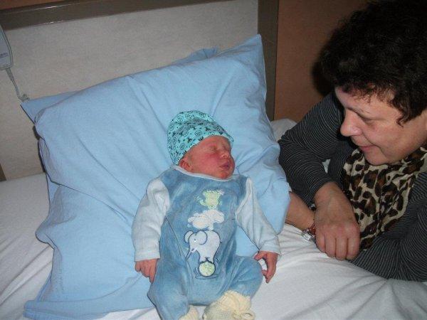 A sa naissance