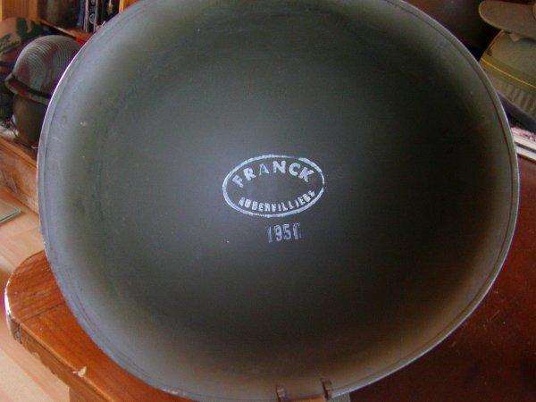casque TTA mle 51 FRANCK 1951