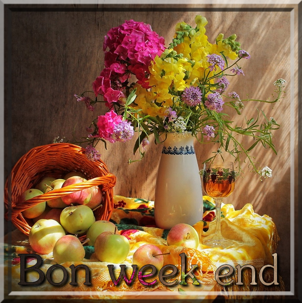 BON WEEK END MES AMI(E)S
