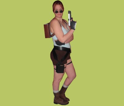 Lara Croft Tomb Raider la Dague de Xian - Tenue Classique