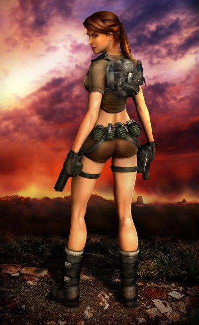 Lara Croft Tomb Raider Legend - Tenue Classique