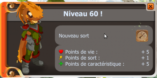 UP de nowcrowl niveau 60 !!!!