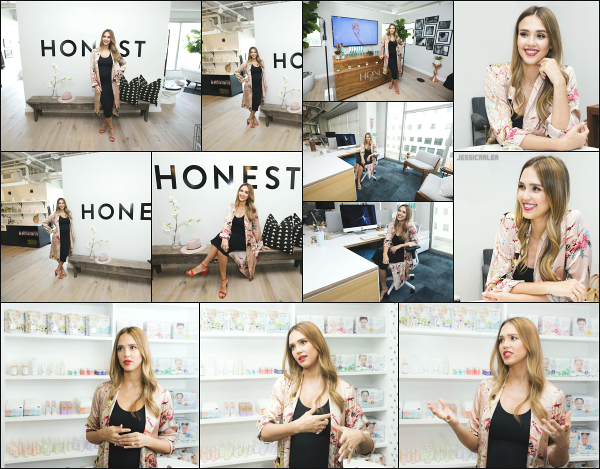- 24.08.17 ─ Jess Alba  à fait la visite officielle des bureaux « Honest Company » qui n'est autre que son entreprise ![/s#00000ize]Comme nous pouvons le voir sur les clichés, les bureaux de Jessica A sont vraiment superbe pour moi ! Vraiment très épuré, assez a son image je trouve. -