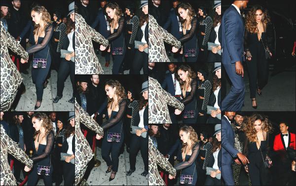 - 28.04.17 ─ Jessica et son mari, Cash Warren sont photographiés, quittant la boîte « Peppermint »  à Los Angeles ! [/s#00000ize]Le couple se dirige vers cette boîte de nuit afin de fêter bien comme il se doit les 36 ans de notre superbe Jessica!! J'aime beaucoup sa tenue et coiffure. -